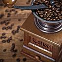 Coffee mill Stock Photos