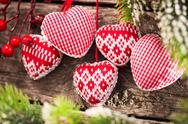 Christmas tree decorations Stock Photos