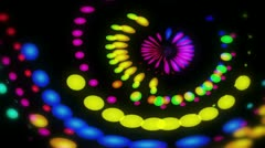 Lucy - Colorful Dots Video Background Loop Stock Footage