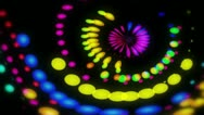 Stock Video Footage of Lucy - Colorful Dots Video Background Loop