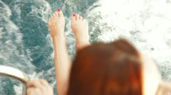 Yacht Vacation - stock footage