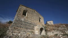 Deserted Turkish Cypriot village Evretou in southern Cyprus 6 Stock Footage