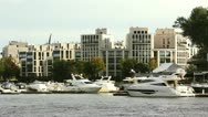 Luxury Homes and Yachts Stock Footage