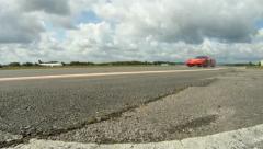 Ferrari Enzo spin Stock Footage