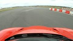 Ferrari Enzo Onboard Camera T3 Stock Footage
