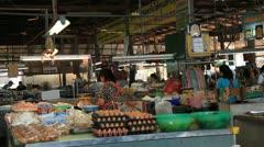 Thai Market 1 Stock Footage