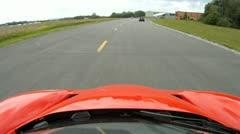 Ferrari Enzo Onboard Camera T4 Stock Footage