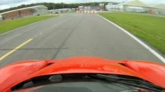 Ferrari Enzo Onboard Camera T7 Stock Footage