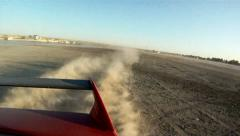 Dirt drifting Stock Footage