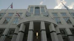 Orange County Courthouse FL Stock Footage