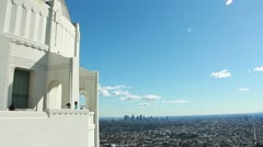 Griffith Observatory4 - stock footage