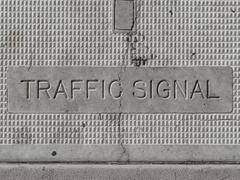 Traffic Signal Control Box - stock photo