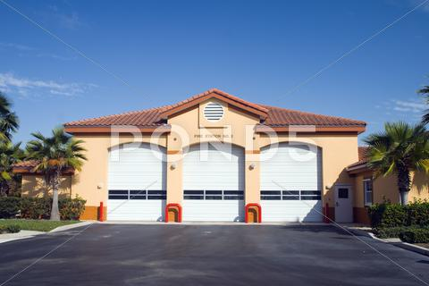 Stock photo of fire station1