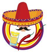 mexico - stock illustration