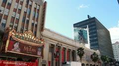 Hollywood El Capitan Stock Footage