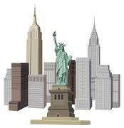 New york city Piirros