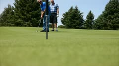 Golfing day 5 Stock Footage