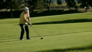 Golfing day 1 Stock Footage