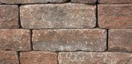 Stock Photo of dry masonry wall detail