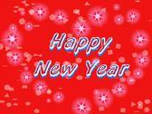 Happy new year. Stock Illustration