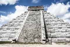 Stock Photo of mayan pyramid of kukulcan el castillo in chichen-itza (chichen itza), mexico