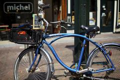 Dutch bike - stock photo