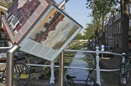 Stock Photo of Canal Delft