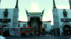 Grauman's Chinese Theater Stock Footage