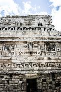 Stock Photo of historic place in chichen itza mexico