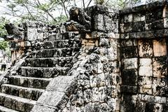 Historic place in chichen itza mexico Stock Photos