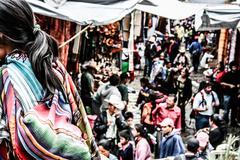 Market in chichicastenango (guatemala) Stock Photos