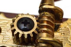Gear of tuner Stock Photos