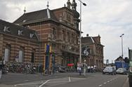 Stock Photo of Delft Central Station