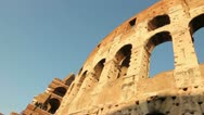 Stock Video Footage of The Colosseum in Rome, Italy