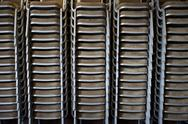 Stock Photo of stack of chairs