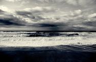 Dramatic seascape Stock Photos