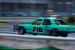 Banger Race Car Stock Photos