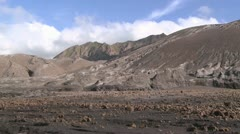 Volcano damaged landscape Rabaul, Papua New Guinea 25 Stock Footage