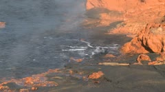 Hot springs at the foot of Rabaul Volcano Papua New Guinea 26 Stock Footage