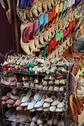 Stock Photo of shoes on a market