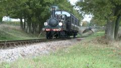 Steam Train on the Bluebell Railway Stock Footage