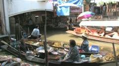 Floating Market 8 Stock Footage