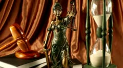 Lady of justice, Law Stock Footage