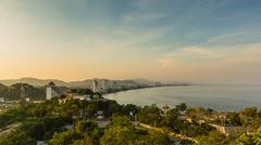 Stock Photo of viewpoint of beach thailand