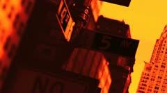 New york usa - 2005  chrysler building. new york city, Stock Footage