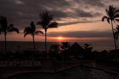 Puerto Vayarta Sunset Stock Photos