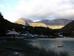 Caleta Tortel Bay - stock photo