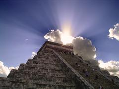 Chichenitza Pyramid - stock photo