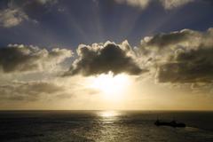 Rays - stock photo