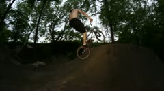 bmx 360 both ways - stock footage